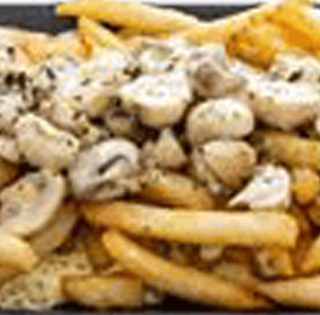 Fries - Al Funghi - AAA Pizza