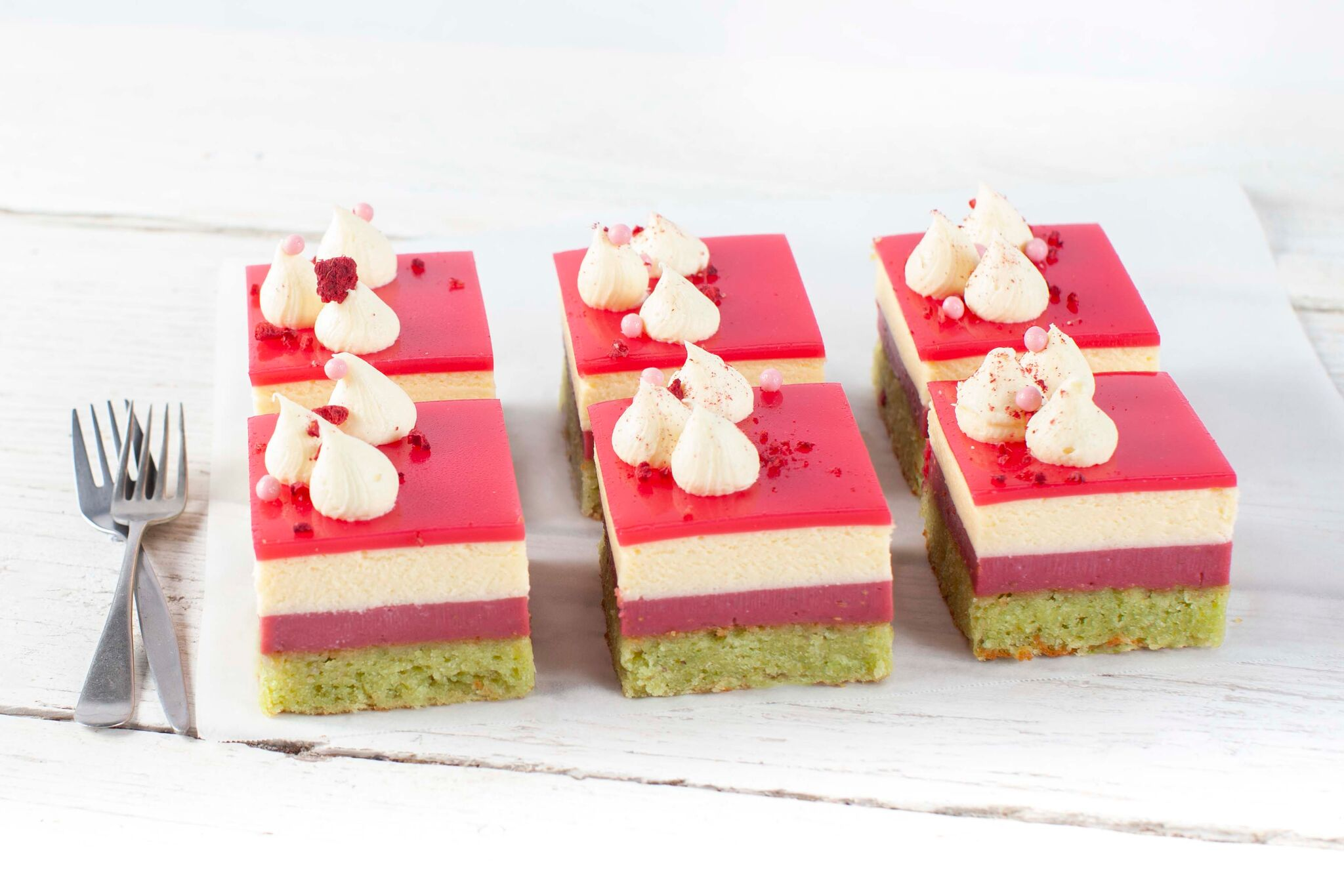 Raspberry Passionfruit Delice - Desserts Delivered